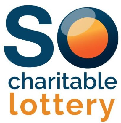 The SO Charitable lottery logo