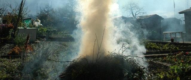 Bonfires and nuisance smoke