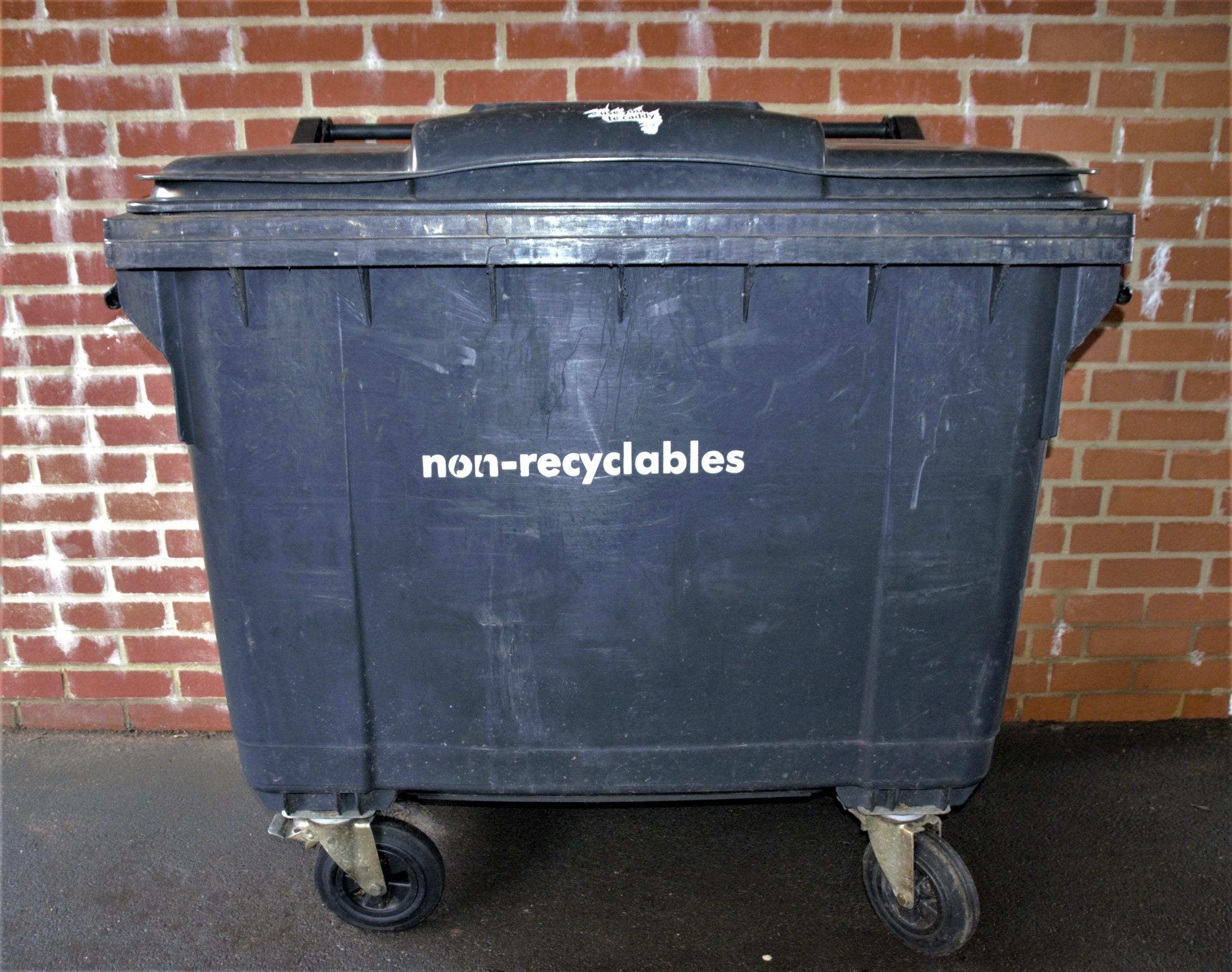 What can go in each bin (flats)?